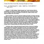 Articolo rivista arti marziai cinesi
