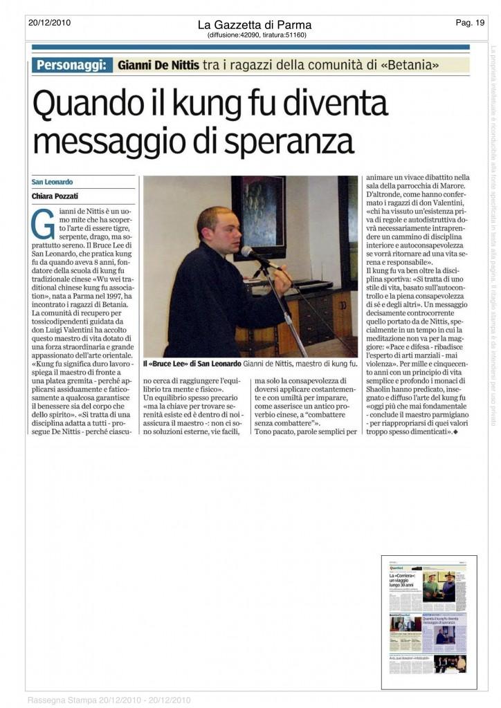 Gazzetta di Parma 2010