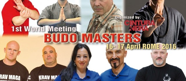Budo Masters International Meeting – Roma, Aprile 2016