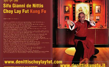 Articolo del Sifu Gianni de Nittis su Budo International Martial Arts Magazine – Giugno 2016
