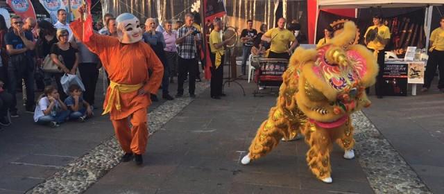 Esibizione della DE NITTIS KUNG FU alla Festa dello Sport di Sorbolo